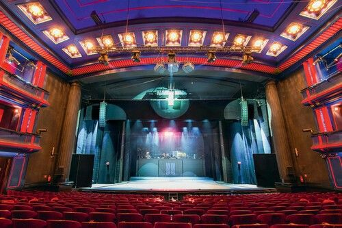 The stage at Musical Theatre Roma Warsaw.