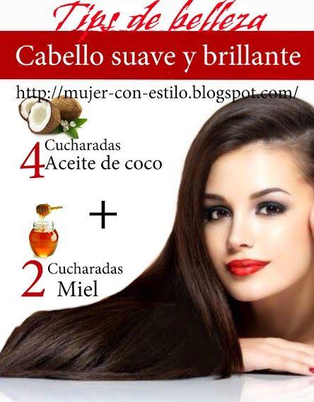 MUJER CON ESTILO  Tips para un cabello suave y brillante 848e8cdd4f7a