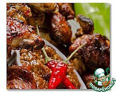 Крылышки Баффало - кулинарный рецепт