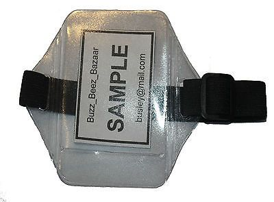 #Black or navy id arm armband sia #security badge #holder door supervisor ,  View more on the LINK: 	http://www.zeppy.io/product/gb/2/231084752672/