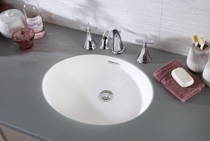 An integrated solid surface basin for a truly seamless look #fittedfurniture #bathroomfurniture #myutopia