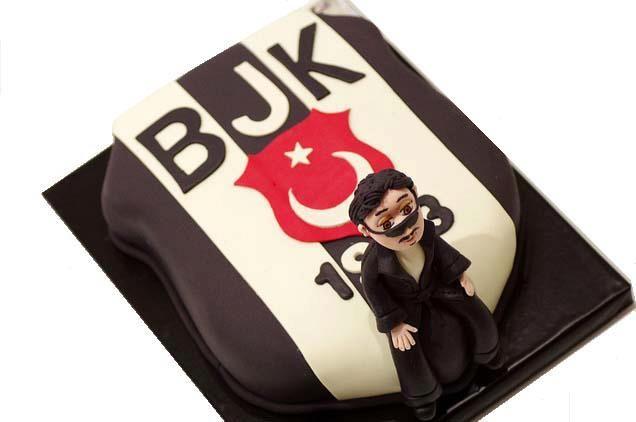 Özel Beşiktaş pastası