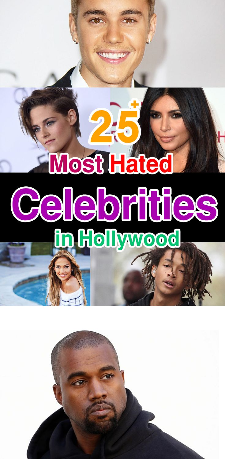 25 Most Hated Celebrities in Hollywood