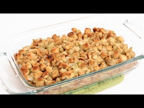 Classic Stuffing Recipe - Laura Vitale - Laura in the Kitchen Episode 843 - YouTube