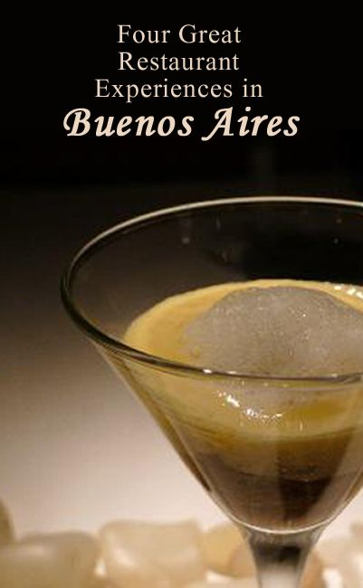 Some of the best restaurants in Buenos Aires, Argentina
