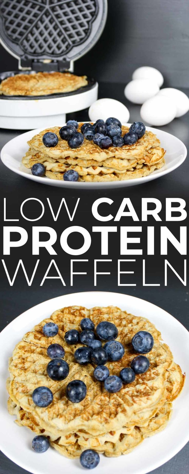 Protein Waffeln