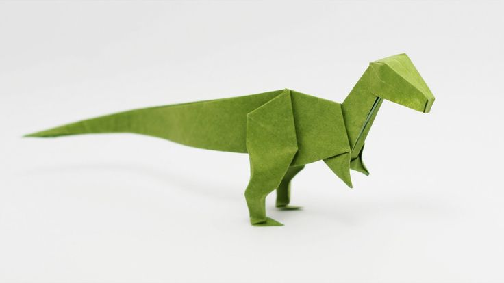 How to make an origami Velociraptor, designed by Jo Nakashima (19/jul/2015) Difficulty level: intermediate (shaping may be a little tricky for beginners...) ...