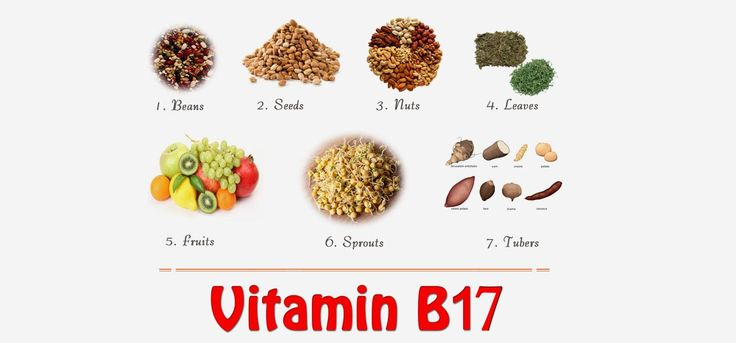 Vitamin B 17, also known as amygdalin or laetrile is a anti-cancer vitamin. Read to know about the vitamins, its benefits & sources.
