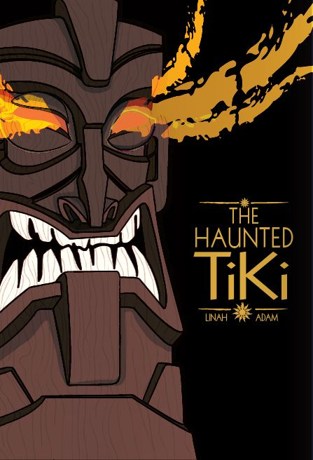The Haunted Tiki (Book Cover Design) by Kamal Patel, via Behance