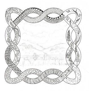 Efie goes Zentangle: celtic uitdaging 12