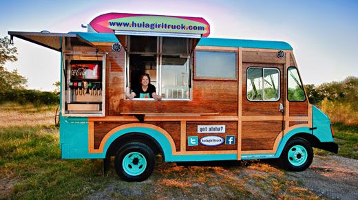 Hula Girl Truck Food Truck Design By Seth Design Group