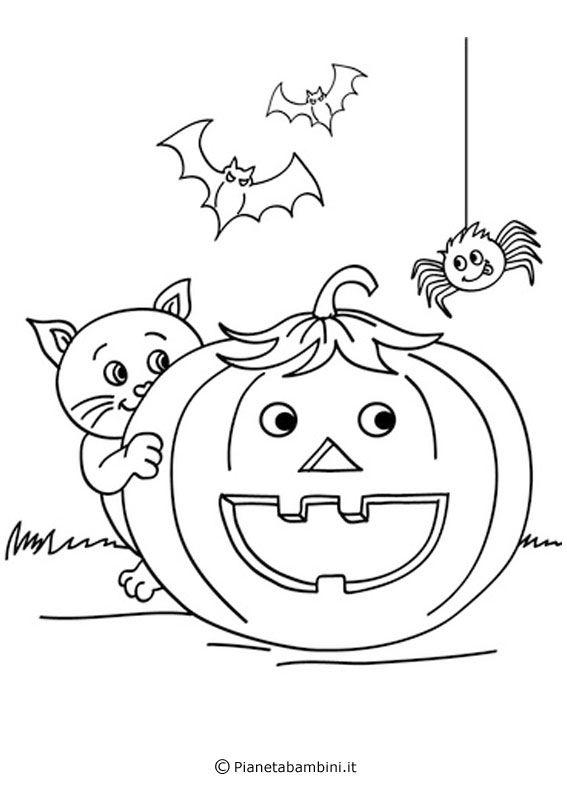 30 Disegni Di Zucche Di Halloween Da Stampare E Colorare Carla