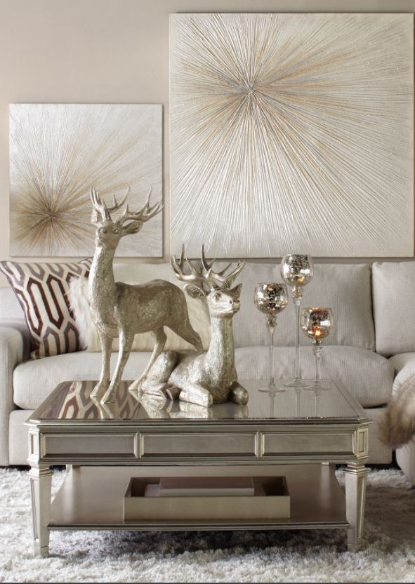 Champagne colored living