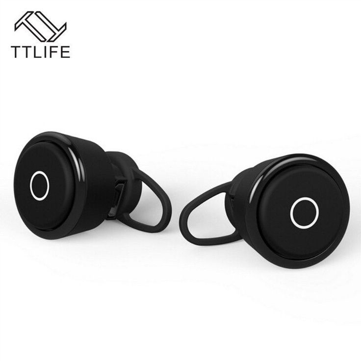TTLIFE New Sports Music Airpods HD Calls Bluetooth 4.1 Earphones Stereo Wireless Headphones with Mic for IOS Android Smartphones