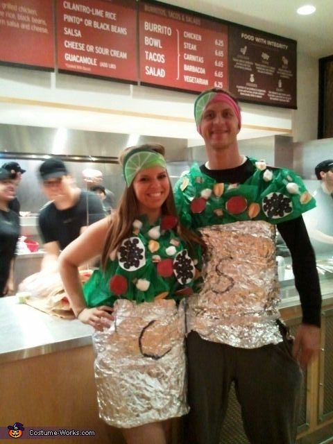 Chipotle Burritos Halloween Costume Halloween Ideas
