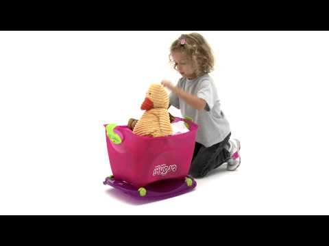 Ooh! I want to go on a road trip!!  Trunki Toybox HD