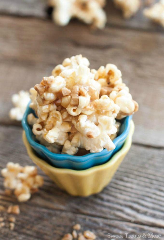 Gooey Toffee Butter Popcorn