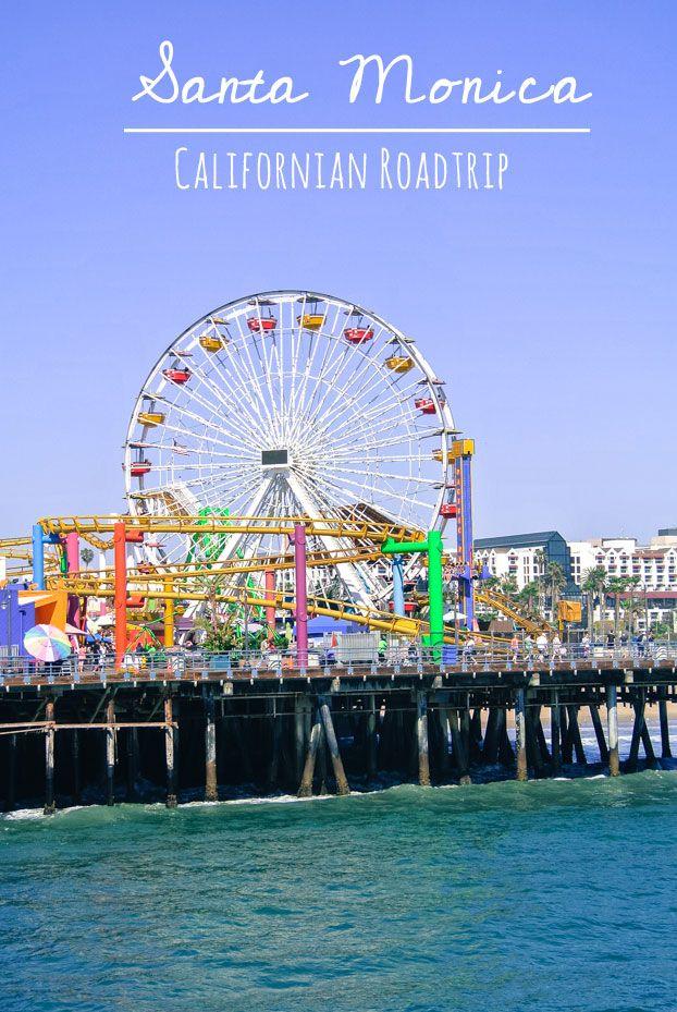 Santa Monica and Venice Beach Boardwalk