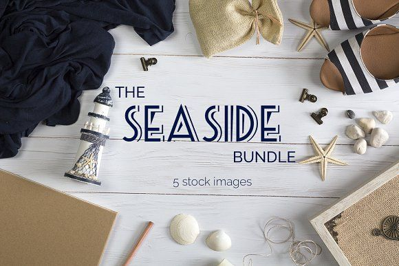 The Seaside Mockup Bundle by Kreanille Design on @creativemarket