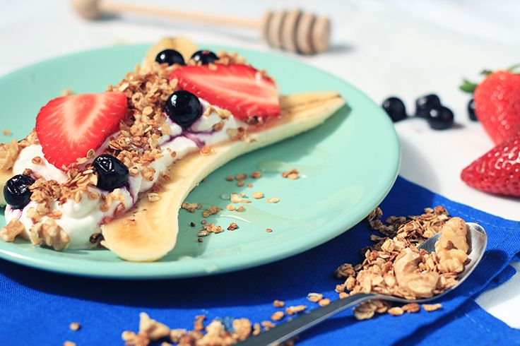 FOOD: Healthy bananensplit
