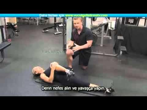 Bel ve Kalça için Egzersizler | Piriformis Esnetme ve Siyatik | AĞIRSAĞLAM - YouTube