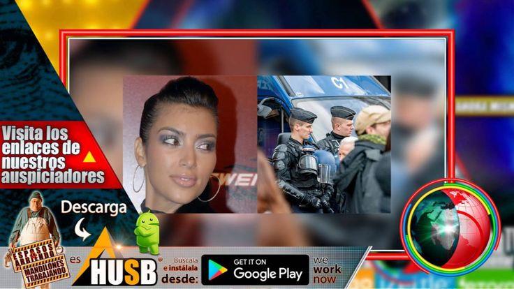 Atracan a Kim Kardashian y le roban el culo