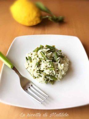 Ricetta riso basmati freddo con asparagi e limone Ecco una ricetta estiva e fresca, il riso basmati freddo con asparagi e limone! Si tratta di una sorta di insalata di riso, che possiamo preparare al momento o in anticipo e che si conserva perfettam #primi #estate