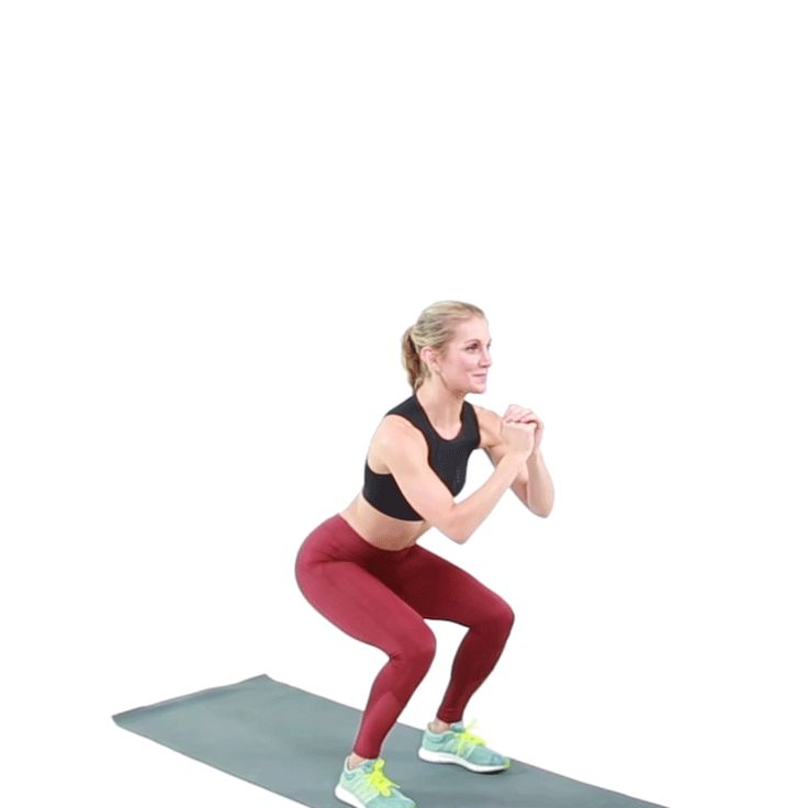 Booty, booty, booty, booty, squattin everywhere. 7 ways to make a basic squat more challenging.