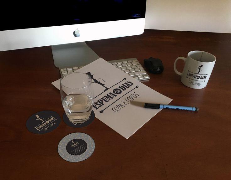 "Check out my @Behance project: ""Espuma dos Dias - Coffee bar logo design"" https://www.behance.net/gallery/48698063/Espuma-dos-Dias-Coffee-bar-logo-design"