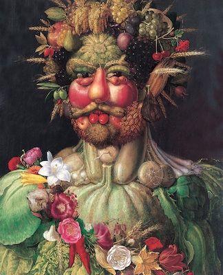 Giuseppe Arcimboldo/ Vertumne/ 1527-1593/est conservé au château de skokloster en Suède