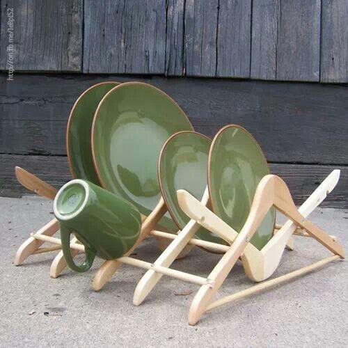 ganchos reciclados