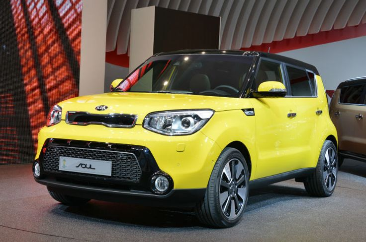 2016 Kia Soul Yellow