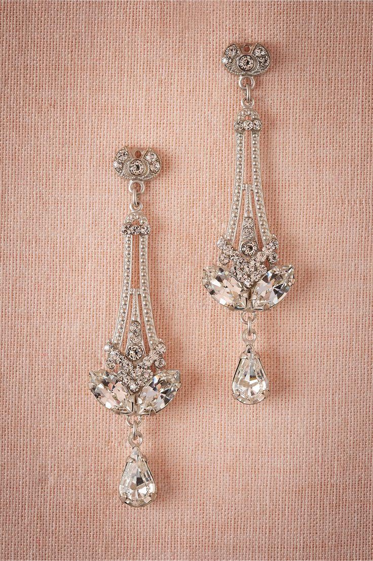 Eli Chandeliers in Bride Bridal Jewelry Earrings at BHLDN