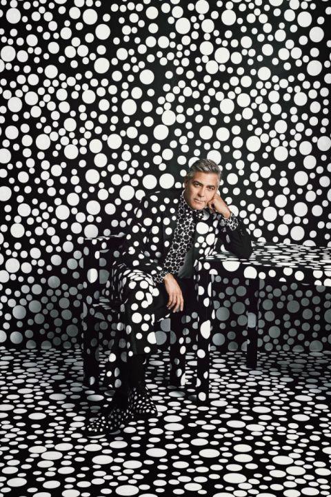 George Clooney & Yayoi Kusama