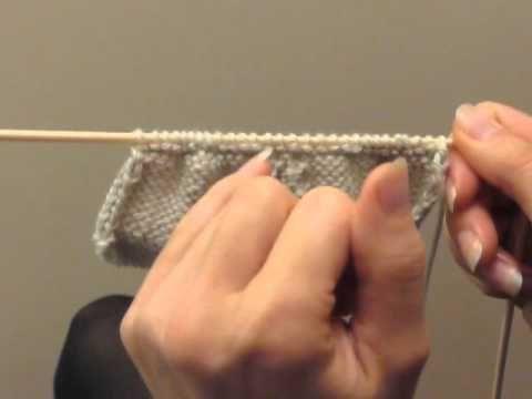 ▶ Cours de tricot 14 - tricoter des chaussons - YouTube