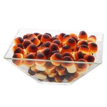 Iti lasa gura apa datorita aromei de caramel. O forma de budinca ce prezinta mai multe straturi. Taaadaaa!! Jeleurile noastre sunt potrivite pentru candybar-ul tau! :)