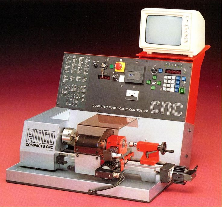 Emco Compact 5 Cnc And 5pc Lathes Cnc Hobby Cnc Diy