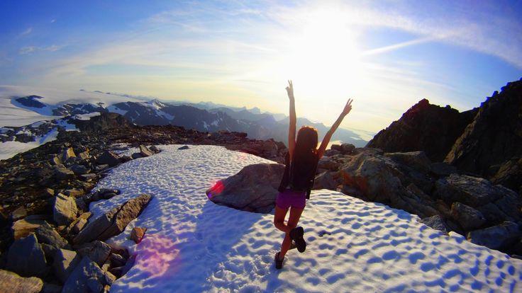Weekend na dachu świata z widokiem na lodowiec :)
