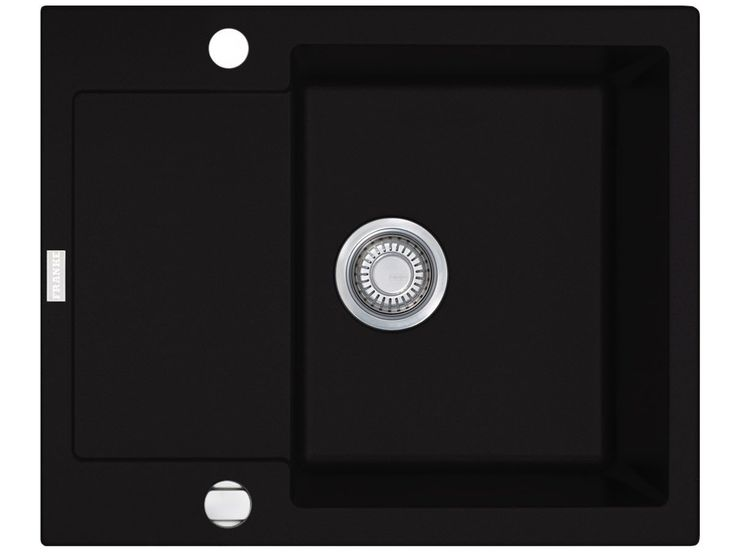 Franke Maris MRG 611-62 Onyx Fragranitspüle Schwarz Küchenspüle Einbau Spültisch: Amazon.de: Baumarkt