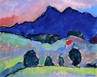 Alexej von Jawlensky - Blue Mountain - 1910