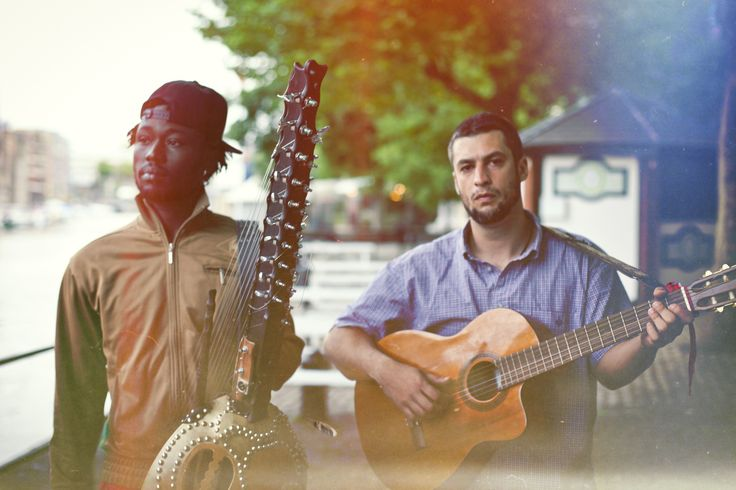 USA/Guinea artists Joe Driscoll and Sekou Kouyate will be performing
