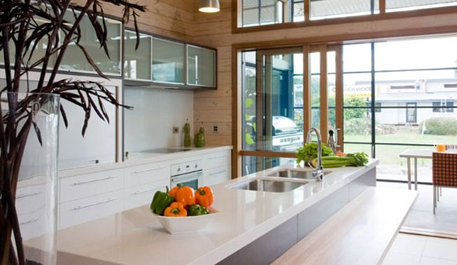 Gullwing home by Lockwood Homes in New Zealand.