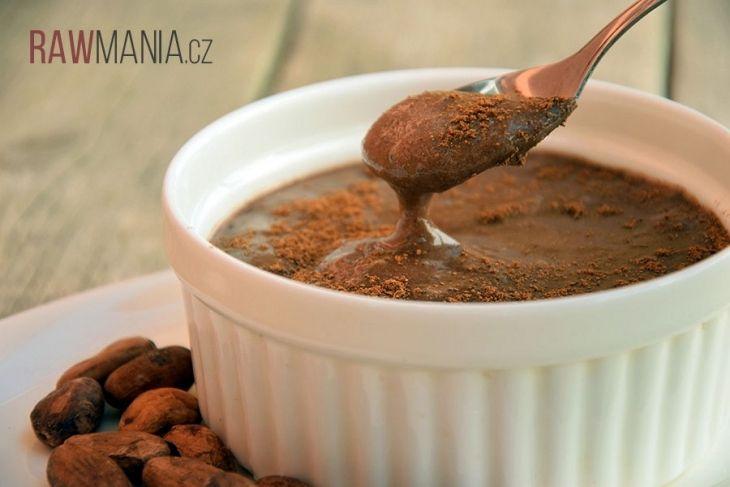 Výborný čokoládový pudink, do kterého se určitě zamilujete :)