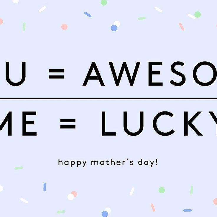 You = Awesome Me = Lucky!!! // Mamá tu eres increíble y yo soy muy afortunada de tenerte!! Felicitaciones a todas la mamás! #toystyle #nailpolish #wowmom #mothersday #happymothersday