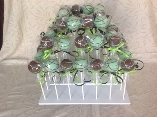Square Cake Pop Stand Display: http://www.thesmartbaker.com/products/3-Tier-Square-Cake-Pop-Stand.html