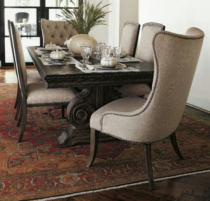 Two Donabella Upholstered Side Chairs Donabella Dining