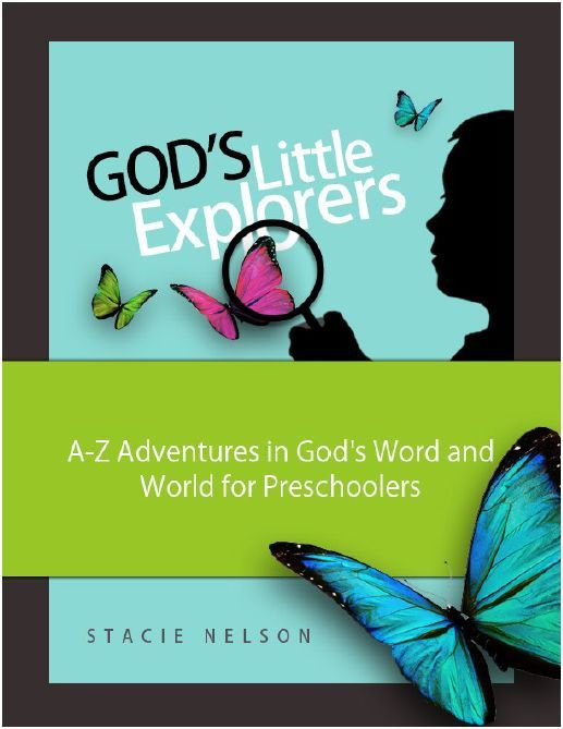 MUST PURCHASE for SEPT. to begin home schooling! God's Little Explorers:  Christian Home Preschool Curriculum