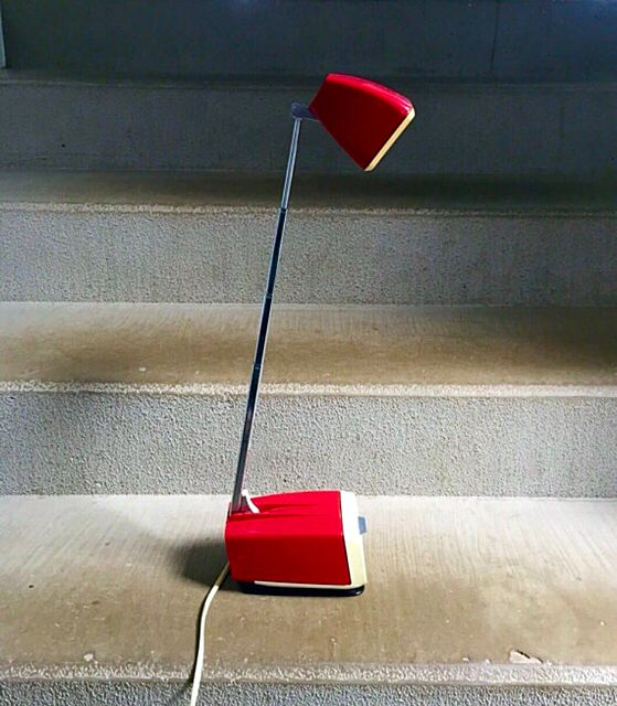 Space age desk lamp HBH maxi from Denmark