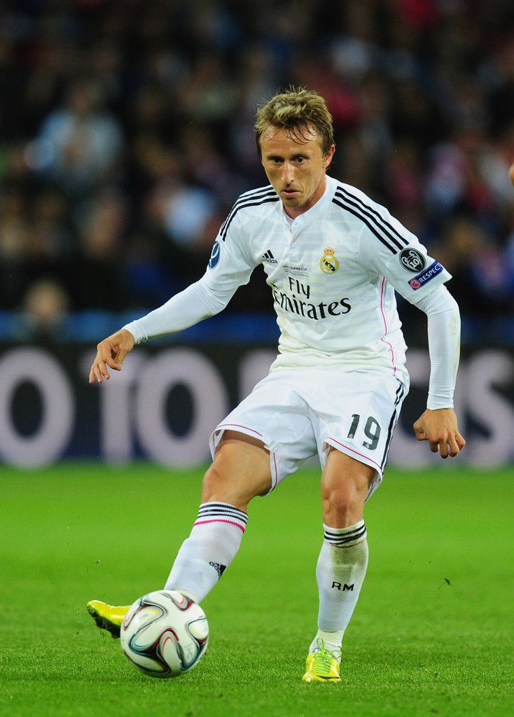 Luka Modric - Real Madrid v Sevilla, 12th August 2014 - UEFA Super Cup