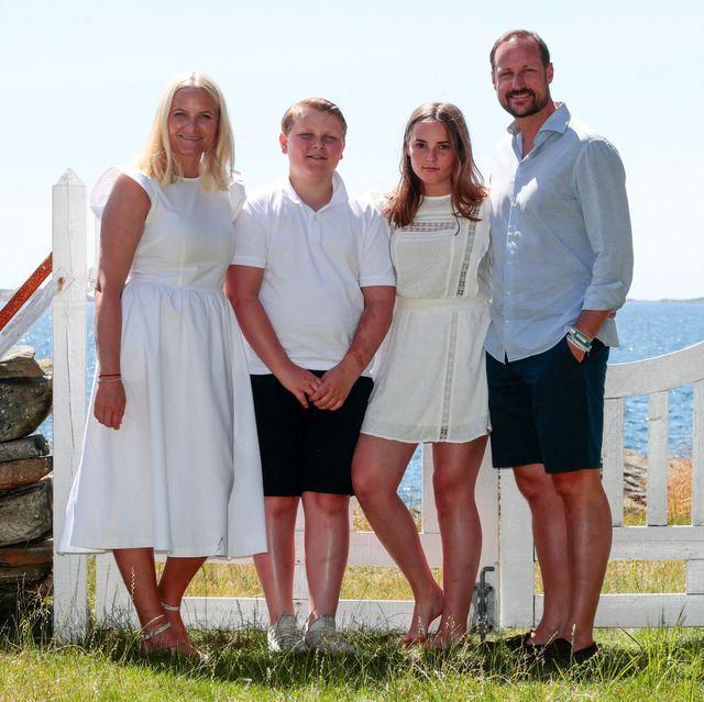 Prinzessin Ingrid Alexandra von Norwegen Postkarte